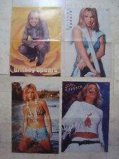 4 fantastic Britney Spears magazine poster centerfold Lot # 2