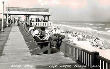 RPPC,Lake Worth,Florida,Board Walk,L.L.Cook Photo,c.1945-50s