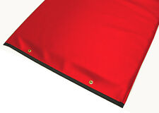 """Table Pad 1"""" Foam Pad 72 X 23.25 X 1"""" Thick Red Upholstery Vinyl PAD-54"""