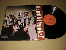 """UP WITH PEOPLE 33 TOURS LP 12"""" ITALY ***WITH POSTER & STICKER***"""