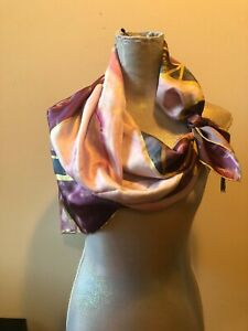 NEW  Ted Baker London Bandana/Square Silk Multicolor Scarf