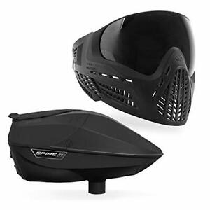 Virtue Spire IR Electronic Paintball Loader and VIO Ascend Mask Bundle - Black
