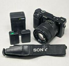 Sony Alpha A6000 24.3MP Digital Camerawith 18-55mm Lens - 5K Clicks!