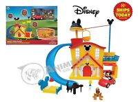 Disney Junior MICKEY MOUSE HOUSE PLAY SET DELUXE CLUBHOUSE Store Parks NEW 2020