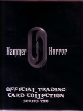 Hammer Horror Series 2 Binder + Full Card Set, Glamour Chase Set And 2 Promos