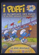 I PUFFI Le olimpiadi dei Puff E Altre grandi Avventure - come nuovo DVD 611