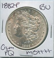 1882-P Morgan Dollar Uncirculated US Mint Gem PQ Silver Coin BU Unc MS++++++