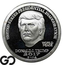 New Listing2017 Donald J Trump Presidential Inauguration, 1 Oz Fine Silver Bullion!