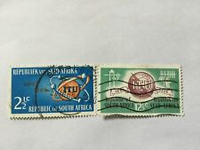 1965 South Africa Nice Stamps . SC 306-307