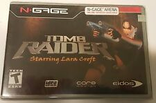NEW FACTORY SEALED TOMB RAIDER GAME FOR NOKIA N-GAGE NGAGE N GAGE