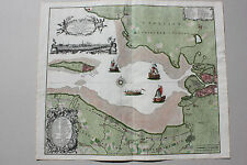 Matthias Seutter Russia Petersburg Carelia sea map ca. 1735