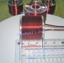 Magnetic Inductance Coil 1.2mm line 90 laps inner dia. 10mm for Electromagnetic