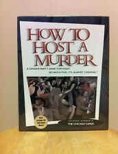 How To Host A Murder Chicago Caper Dinner Party Role Play Adult Game Music CD