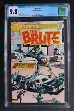 BRUTE 1 ORIGIN 1st Atlas/Seaboard 1975 Fleisher Sekowsky Marcos TV Movie CGC 9.8