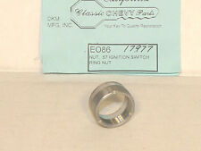 1957 Chevy Ignition Switch Bezel Ring Nut Show Quality