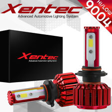 XENTEC LED HID Headlight kit 9004 HB1 White for 1994-1997 Pontiac Sunrunner