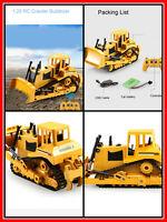 2.4G RC Truck Crawler Bulldozer Caterpillar Tractor Excavator Construction Toys