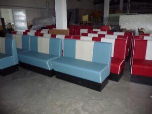 booth benches for houses, restaurants, cafe shops, barber shops 061