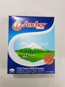 Anchor Dry Full Cream Milk Powder 400g Full Nutrition Morning Drink Vitamin A D3
