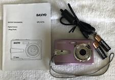 Sanyo Xacti VPC-S770 7.1MP Digital Camera~~Violet~~Nice~~Bundle~~