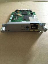 Cisco HWIC-1FE 1 Port High Speed WIC module W/Tested Report.