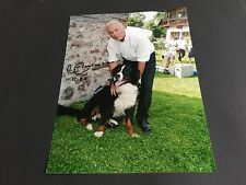 FRANZ BECKENBAUER WELTMEISTER FC BAYERN In-Person signed Photo 20x27
