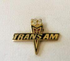 Trans Am - Hat pin , lapel pin , tie tac Memorabilia 1984 Trans Am pin