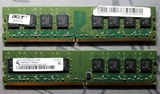 2GB Qimonda [2 X 1GB] 240pin PC2-5300 CL5 DDR2-667 1.8V UDIMM non-ECC