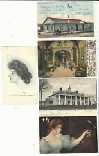 Usa: small lot of 5 different postal cards with atamos of U.S.A. US508