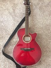 *Takamine EG568C G Series Cherry Thin line Acoustic Electric Guitar BEAUTIFUL