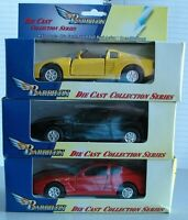 Coches de colección mini surtido en metal fundido a presión - pack de 3 modelos