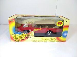 ERTL 2002 American Muscle Monkee Mobile Pontiac GTO 1:18 Scale NEW