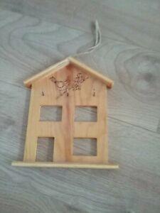 Wooden Key Holder - Bird Design House