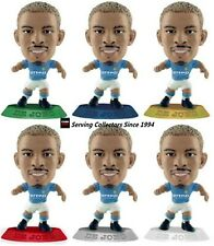 2010 MICRO WORLD SOCCER STARS FIGURINE DE JONG COLLECTION(6)-MANCHESTER CITY