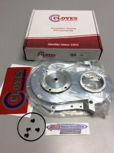 Cloyes 9-231 BIG BLOCK Chevy Quick Button Adjustable Aluminum Timing Cover