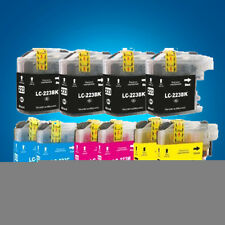 10 Ink Cartridge for Brother LC223 MFC-J4625DW MFC-J5320DW MFC-J5620DW