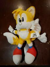 Jazwares Classic Tails Plush. Sonic The Hedgehog toy 20th anniversary