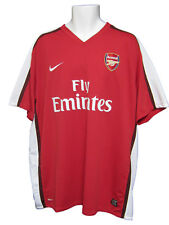 Rare Nouveau Nike Arsenal Football shirt Domicile 2008/10 XXL