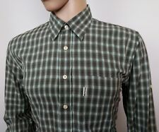 Barbour Mens Shirt Country Green Gingham Check Size Large 16.5 - 46 New RRP£119