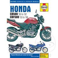 Honda CB 500 1997 Haynes Service Repair Manual 3753