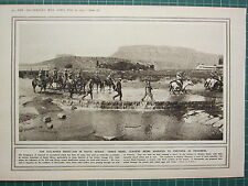 1915 WWI WW1 PRINT ~ COLLAPSED REBELLION SOUTH AFRICA LEADERS AS PRISONERS