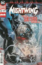 DC Comics Nightwing Annual #2 Dec. 2019 Court of Owls