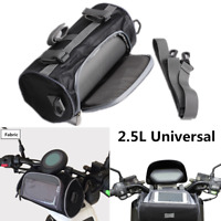 Universal Motorcycle Handlebar Bag Clear Phone Case Front Fork Storage Pouch 1x