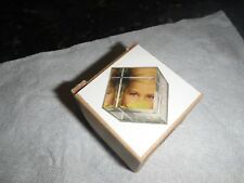 glass photo cube