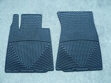 WeatherTech All-Weather Floor Mats for Nissan 370Z 2009-2019 Front Pair Black