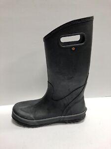 Bogs Mens Rain Boots Black Size 10M