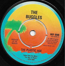 THE BUGGLES - THE PLASTIC AGE / ISLAND - ORIGINAL 80s ELECTRONIC SYNTH-POP