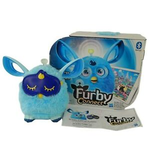 Furby Connect Blue Boxed Interactive Electronic Pet Toy Battery Hasbro VGC