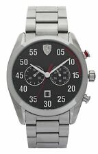 Scuderia Ferrari Men's D50 Stainless Steel 42mm Watch. The Official Argos Store