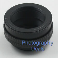 M42 to M42 17-31mm Adjustable Focusing Helicoid Adapter Macro Tube 17mm-31mm